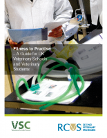 Fitness to Practise – A guide for UK Veterinary Schools and Veterinary Students