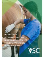 VSC Admissions Guide 2021
